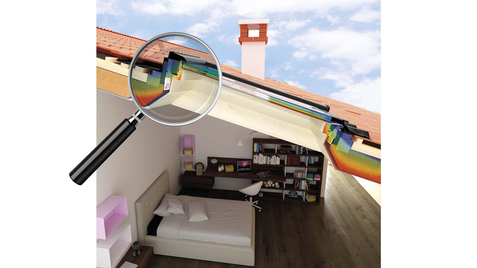 Finestre gi isolate for Roto finestre da tetto