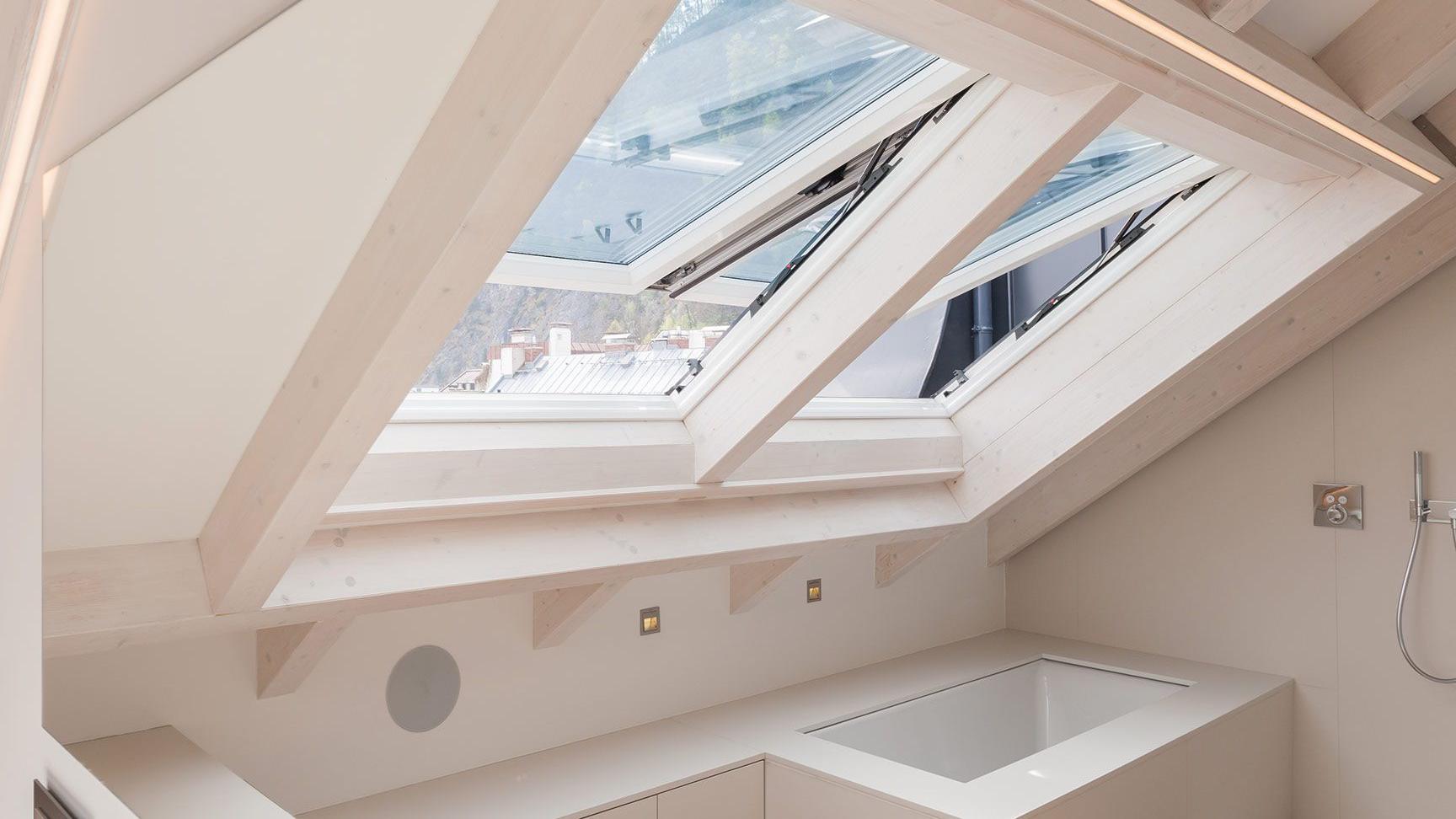 finestre per tetti rotocostruite con materiali di