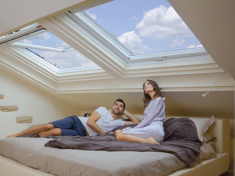 Sonni d oro come mai prima con le finestre per tetti roto for Roto finestre da tetto